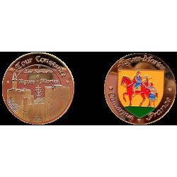 D1177 Medal 32 mm Aiguesmortes Tour
