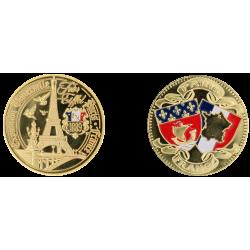 D11432 Medaille 32 mm T.E. Pont Alexandre
