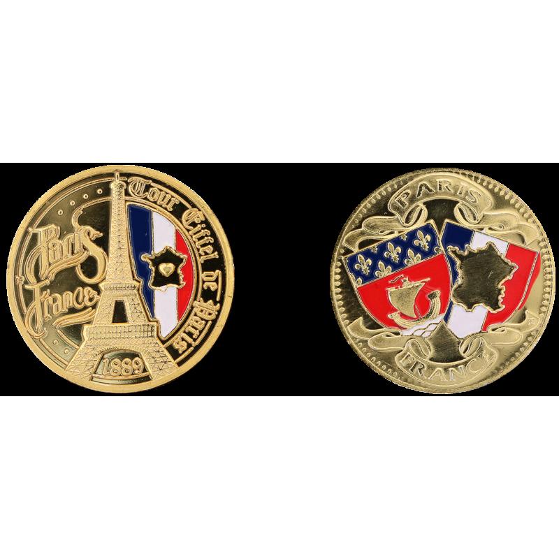 D11431 Medal 32 mm T.E. France Coeur