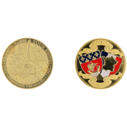 D11430 Medaille 32 mm 3 Monuments 2015