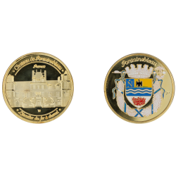 D1142 Medaille 32 mm Chateau De Fontainebleau