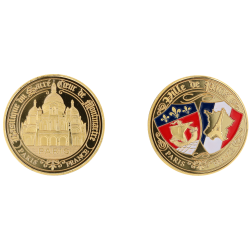 E1165 Medaille 40mm Paris Sc Blasons