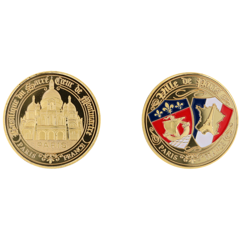 E1165 Medal 40mm Paris Sc Blasons