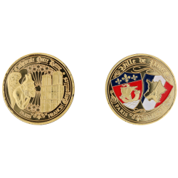 E1164 Medal 40mm Paris Nd Gargouille Blasons