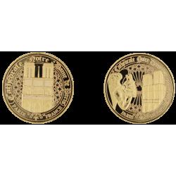 E1151 Medaille 40 mm ND - Gargouille