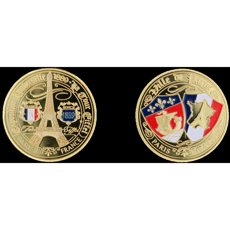 E1150 Medal Classic Paris 40mm T.E. Blasons