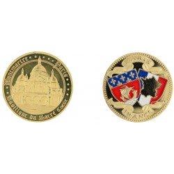 D11209 Medaille 32 mm Sacre Coeur