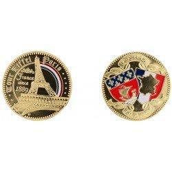 D11212 Medaille 32 mm T.E. Since 1889 Arc En Ciel