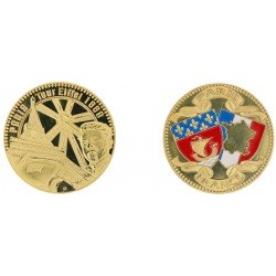 D11216 Medaille 32 mm T.E. Gustave Eiffel