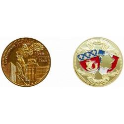 D11222 Medal 32 mm Louvre Victoire De Samothrace