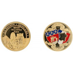 D11223 Medal 32 mm Louvre Joconde