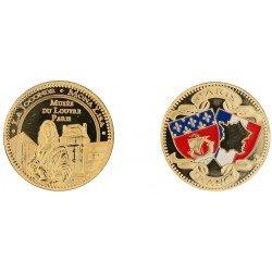 D11223 Medaille 32 mm Louvre Joconde