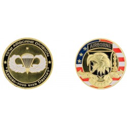 D11235 Medal 32 mm 101St Airborne Division Style