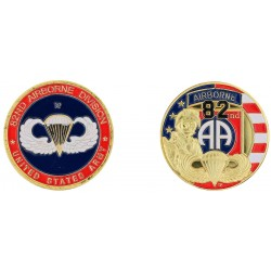 D11236 Medal 32 mm 82Nd Airborne Division Style