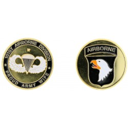 D1124 Medal 32 mm 101St Airborne Division Classic