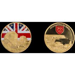 E1131 Medal 40 mm Vintage Arro Gold Beach