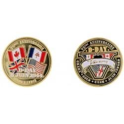 D11393-75 Medal 32 mm 75 eme