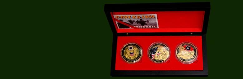Box 3 Medals